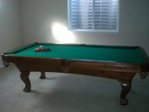 Full Size Pool Table in Baumholder, GE