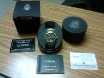 Citizen Eco-Drive Mens Perpetual Calendar Radio Control Watch Retail $575.00 in Alamogordo, New Mexico