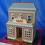Hallmark Collector's Series Collectible Cafe Ornament NEW in Naperville, Illinois