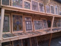 STAINED GLASS WINDOWS in Alconbury, UK