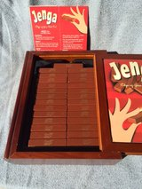 JENGA GAME IN WOOD BOX in Fort Leonard Wood, Missouri