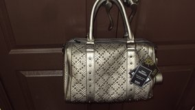 Ladies Beautiful Silver Hand Bag in Spring, Texas