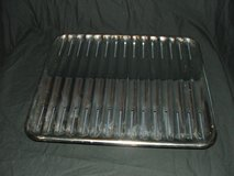 Stainless Steel Broiler pans Large and Small in Batavia, Illinois