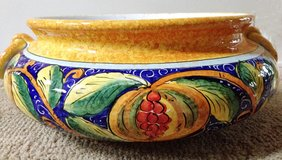 Italian Ceramic Large Centerpiece Bowl/Server in Glendale Heights, Illinois