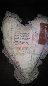 heart decor pillow in Kingwood, Texas