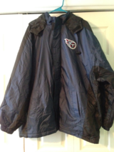 mens titans jacket with hood.sz.x-large. in Fort Campbell, Kentucky