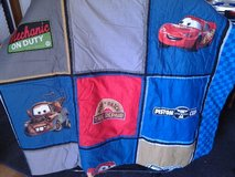 Cars Twin Comforter/Spread and Pillowcase in Fort Rucker, Alabama