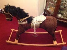 Rocking horse in Lakenheath, UK