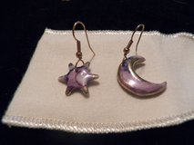 Porcelain Star and Moon Earrings in Houston, Texas