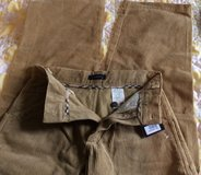 Burberry Boys corduroy pants size 10 NWTs in Ramstein, Germany