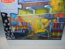 Firehouse puzzle in Aurora, Illinois
