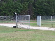 mm fence in Fort Polk, Louisiana
