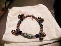 Bell/BlueBead/Spacer Bracelet in Houston, Texas