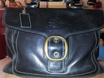 Authentic Coach Bleeker Black Leather Purse in Ramstein, Germany