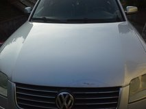 VW Hood for Passat 2002 to 2005 in Ramstein, Germany