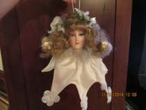 Porcelain Doll Ornament -- Pretty Face  --  REDUCED! in Kingwood, Texas