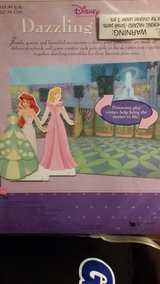 Disney Carboard Princess Dolls in Tacoma, Washington