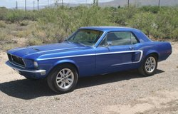 1968 Mustang Coup in Alamogordo, New Mexico