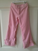 Girls (5) Pink Velour Ribbon Detail Pants in Naperville, Illinois