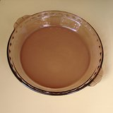 "PYREX 9-1/2"" FLUTED PIE PAN, AMETHYST in Naperville, Illinois"
