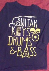 2 GAP L/S boys guitar music shirts size m 8 in Fort Campbell, Kentucky
