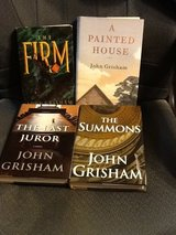 John Grisham Hard copy books. Like new. in Dover, Tennessee