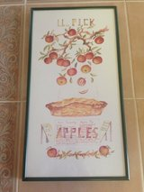 Reduced: Framed Apple Picture in Naperville, Illinois