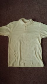 Youth size 18/20 Yellow Collared Cotton/Polyester Shirt NEW in Bolingbrook, Illinois