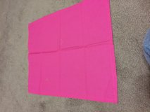 Set of 11 dark pink polyester napkins in Alamogordo, New Mexico