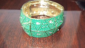 Ladies Green Fashion Jewelry Bracelet in The Woodlands, Texas