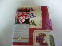 New Christmas Fabric Tablecloth-oblong in Fort Riley, Kansas
