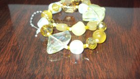Yellow & White Fashion Jewelry Bracelet in The Woodlands, Texas