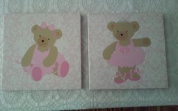 Canvas Teddy Bear Pictures in Conroe, Texas