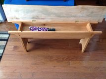 Entry bench -Live edge Maple and Red Oak - NEW in Camp Lejeune, North Carolina