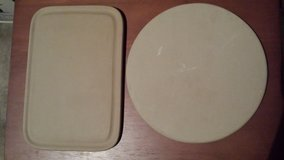 Baking Stones or Trivets Hartstone USA (2 for $10 or $6 each) in Yorkville, Illinois