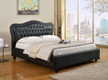 NEW QUEEN BED WITH MATTRESS in San Bernardino, California