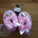 New Princess Girls Slippers size 11/12 in Batavia, Illinois