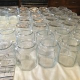 Dozen of octagon glass jars with lid in Alamogordo, New Mexico