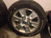 """4 20"""" Rims with Tires in Fort Riley, Kansas"""