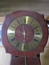 REDUCED Old wall mounted pendulum clock in Spangdahlem, Germany
