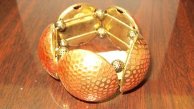 Orange & Gold Ladies Fashion Jewelry Bracelet in The Woodlands, Texas