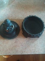 candle holder, top, bottom in Lockport, Illinois