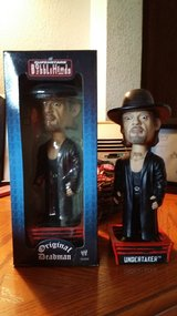 2 Undertaker Bobble Heads in Fort Lewis, Washington