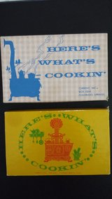 Vintage Recipe Cards Here's What's Cookin (Set of 2 boxes) in Sugar Grove, Illinois