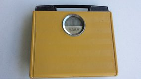 REDUCED Vintage Yellow BORG Bath Scale in Oswego, Illinois