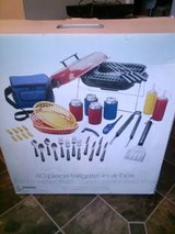 New / 40 Piece Tailgate Grill Set in Fort Campbell, Kentucky