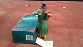 Christmas Carol Figurine (Man with Voilin) in 29 Palms, California