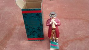 Christmas Carol Figurine, (Man with Horn) in 29 Palms, California