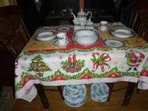 Vintage Christmas Fine China Dishes Royal Majestic in Aurora, Illinois