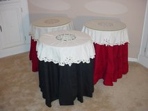 """Decorator """"Table Cloths & Toppers"""" in Glendale Heights, Illinois"""